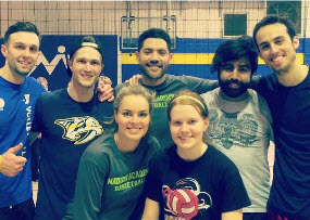 Champs Late Night Volleyball 2015