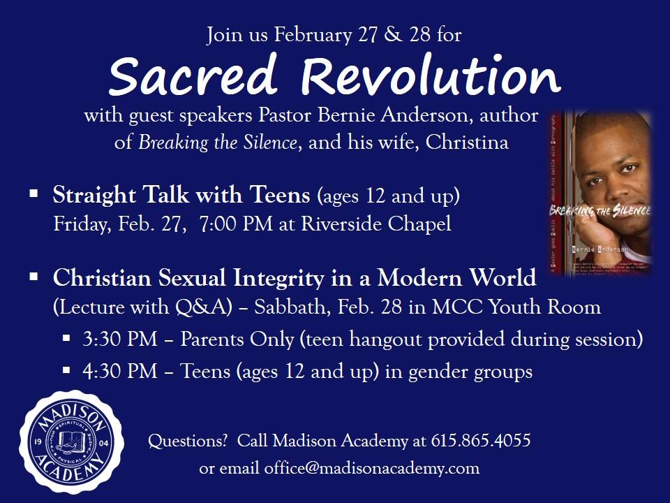 Sacred Revolution 2