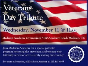 vet day tribute