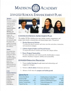 School Enhancement Plan