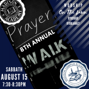8th annual prayer walk