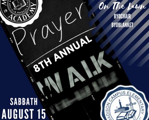 8th annual prayer walk